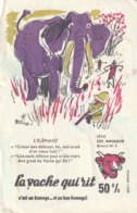 Rare Buvard Vache Qui Rit Série Les Animaux N°5 - Dairy