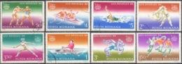 --- 1984 Roumanie Y. 3515 / 3522 (O) M. 4058 / 4065 (O) - Usado