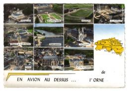 En Avion Au Dessus De L'ORNE N°525 VOIR ZOOM Stade De Foot D'Alençon Flers Rabodanges Tinchebray Argentan - Francia