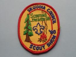 """SEQUOIA Council '80 California Scout Show """" SCOUTING """" The Better Life ( What You See Is What You Get > See Photo ) ! - Padvinderij"""