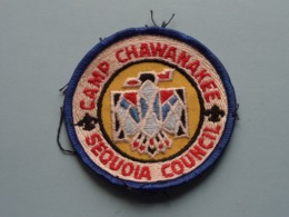 """SEQUOIA Council > Camp CHAWANAKEE """" SCOUTING """" ( What You See Is What You Get > See Photo ) ! - Padvinderij"""
