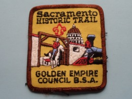 """SACRAMENTO HISTORIC TRAIL > GOLDEN EMPIRE Council B.S.A. """" SCOUTING """" ( What You See Is What You Get > See Photo ) ! - Padvinderij"""