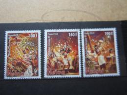 VEND BEAUX TIMBRES DE POLYNESIE N° 909 - 911 , XX !!! (b) - Polynésie Française
