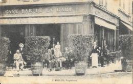 Vienne En 1905 - Café Bar De La Gare, F. Bollud, Propriétaire - Photo Dumas - Vienne
