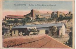 LIBAN - BEYROUTH : Collège De Notre Dame De Nazareth - Lebanon