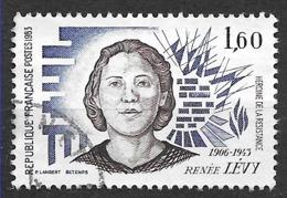 FRANCE 2293 Renée Lévy Héroïne De La Résistance . - France