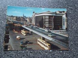 BRUSSEL: Sainctelette Plaats - TRAM !! - Strassenbahnen