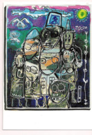 Pierre MARQUER: Illustration De La Couverture De La Gazette 62/2001 Pour Le CICPC De 2001 à Albi - Carte Neuve - - Künstlerkarten