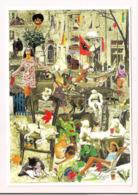 Eveline Teyssier: Illustration De La Couverture De La Gazette 63/2001 Pour Le CICPC De 2001 à Albi - Carte Neuve - - Künstlerkarten