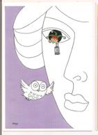 J.Marie PETEY: Illustration De La Couverture De La Gazette 64/2001 Pour Le CICPC De 2001 à Albi - Carte Neuve - - Künstlerkarten
