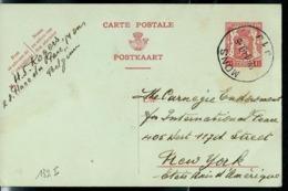 Carte Obl. N° 132. I.FN.   Obl. MONS J 1 J  Du 22/10/1940 - Cartes Postales [1934-51]