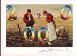 """Pierre BLANCHARD: """" 2000 """" - Pour Le CICPC De 2000 à Albi - Carte Neuve - - Blanchard"""