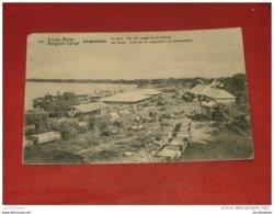 CONGO BELGE - LEOPOLDVILLE  -  Le Port  - Vue Des Magasins Et Ateliers   -  1910 - - Congo Belge - Autres