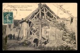 51 - TOURS-SUR-MARNE - INONDATIONS DE 1910 - MAISONS EFFONDREES - Altri Comuni