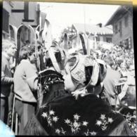 Rare Négatif Format 6 X 6 Cm Savoie Fête Costumes - Altri
