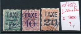 Italien-J.Venetien  3x TAXE ?  ....(ed7852  ) Siehe Scan - 8. WW I Occupation