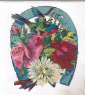 DECOUPI FLEURS ET FER A CHEVAL - Flowers