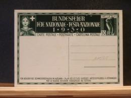 A11/308 CP  SUISSE  1930  XX - Entiers Postaux