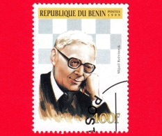 Nuovo Oblit. - BENIN - 1999 - Giocatori Di Scacchi - Chess - Mikhail Botvinnik - 400 - Benin – Dahomey (1960-...)