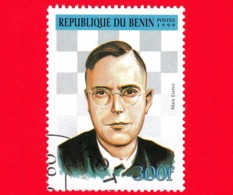 Nuovo Oblit. - BENIN - 1999 - Giocatori Di Scacchi - Chess - Max Euwe - 300 - Benin – Dahomey (1960-...)