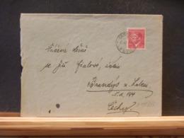 A11/313 LETTRE   1943 TIMBRE HITLER - Brieven En Documenten