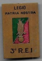 Légion - 3e R.E.I. - Insigne émaillé Augis - Armée De Terre
