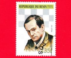 Nuovo Oblit. - BENIN - 1999 - Giocatori Di Scacchi - Chess - Mikhail Tal - 135 - Benin – Dahomey (1960-...)