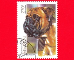Nuovo Oblit. - BENIN  - 2002 - Cani - Dogs - Bull Mastiff - 270 - Benin – Dahomey (1960-...)