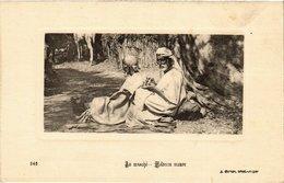 CPA 646 Au Marche - Medecin Maure. Ed. Geiser ALGERIE (69714) - Algérie