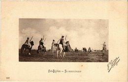 CPA 147 Sud-Algerien - En Reconnaissance. Ed. Geiser ALGERIE (69736) - Scenes