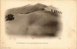CPA 16 Extreme Sud - En Reconnaissance Sur Les Dunes Ed. Geiser ALGERIE (69740) - Algeria