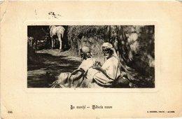 CPA 646 Au Marche - Medecin Maure. Ed. Geiser ALGERIE (69770) - Algérie