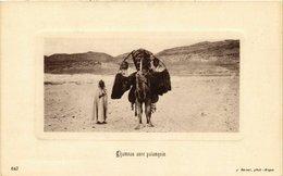 CPA 647 Chameau Aven Panaquin. Ed. Geiser ALGERIE (69772) - Algérie