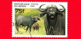 Nuovo Oblit. - BENIN - 1996 - Animali - Bufalo Nero - Caffer Caffer - 75 - Benin – Dahomey (1960-...)