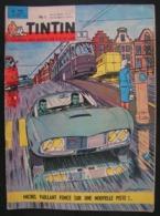 TINTIN LE JOURNAL DES JEUNES - N°782 DU 17 OCTOBRE 1963 - MICHEL VAILLANT FONCE SUR UNE NOUVELLE PISTE - Tintin