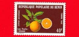 BENIN  - 1978 - Nuovo - Frutta - Fruits - Arancio - 40 - Benin – Dahomey (1960-...)