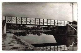 45 CHATILLON SUR LOIRE N°306 S 30 Le Pont Métallique Sur Le Canal Latéral à La Loire - Chatillon Sur Loire