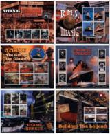 Ref. 315415 * NEW *  - MADAGASCAR . 1998. THE TITANIC. EL TITANIC - Madagascar (1960-...)