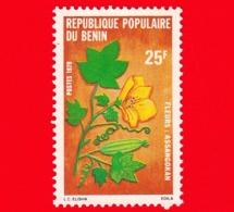 Nuovo - BENIN  - 1979 - Fiori - Flowers - Fleurs - Assangokan - 25 - Benin – Dahomey (1960-...)