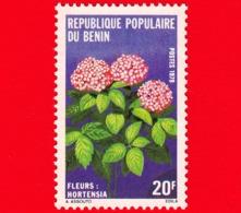 Nuovo - BENIN  - 1979 - Fiori - Flowers - Fleurs - Ortensia - 20 - Benin – Dahomey (1960-...)