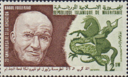 Ref. 192867 * NEW *  - MAURITANIA . 1978. 25th ANNIVERSARY OF FOLLEREAU FOUNDATION. 25 ANIVERSARIO DE LA FUNDACION FOLLE - Mauritania (1960-...)