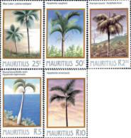 Ref. 162695 * NEW *  - MAURITIUS . 1984. PALM TREES. PALMERAS - Mauricio (1968-...)