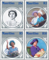 Ref. 162701 * NEW *  - MAURITIUS . 1985. 85th ANNIVERSARY OF THE QUEEN MOTHER. 85 ANIVERSARIO DE LA REINA MADRE - Mauricio (1968-...)