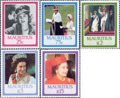 Ref. 162706 * NEW *  - MAURITIUS . 1986. 60th ANNIVERSARY OF QUEEN ELIZABETH II. 60 ANIVERSARIO DE LA REINA ISABEL II - Mauricio (1968-...)