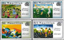 Ref. 162772 * NEW *  - MAURITIUS . 1994. CHILDREN'S PAINTINGS. PINTURAS INFANTILES - Mauricio (1968-...)