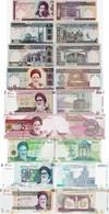 Iran Set 8 Pcs 100+200+500+1000+2000+5000+10000+20000 Rials - Pick 136-149 UNC Random Years - Iran