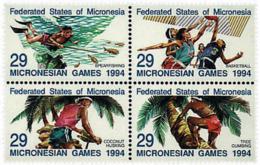 Ref. 6139 * NEW *  - MICRONESIA . 1994. POPULAR GAMES. JUEGOS POPULARES - Micronesia