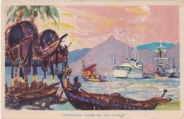 """Bateaux : Le Sloop """" Régulus"""" En Polynésie - Illustration - - Sonstige"""