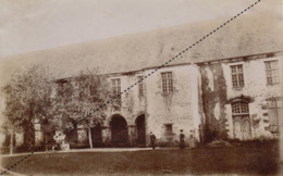 Photo Originale 13 Mai 1906 Abbaye De Clermont Olivet Mayenne - Plaatsen