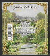 France 2012 Bloc Feuillet N° F4663 Neuf Luxe.jardins De France, Salon Du Timbre à La Faciale - Blocks & Kleinbögen